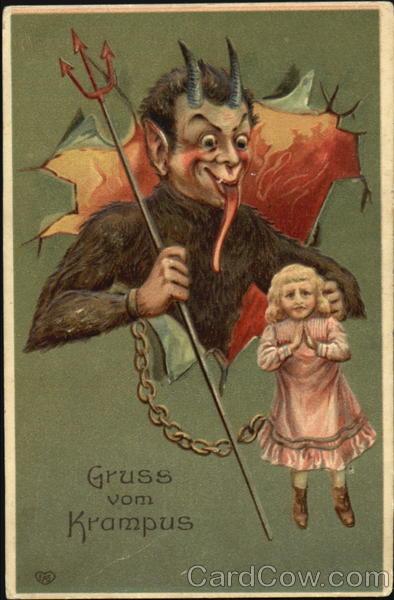 Gruss Vom Krampus Devils