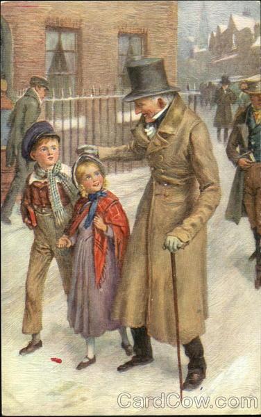 Dickens Characters Tucks Oilette Series
