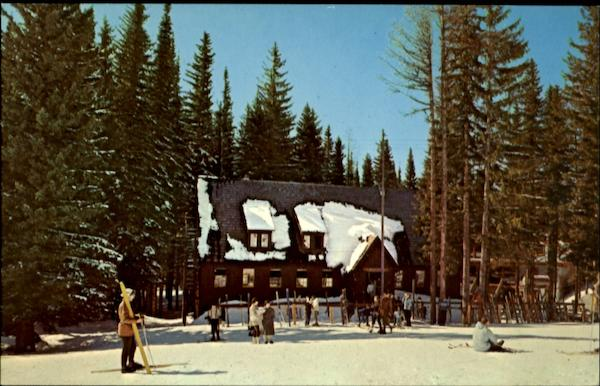 Spout Springs Ski Area Tollgate OR