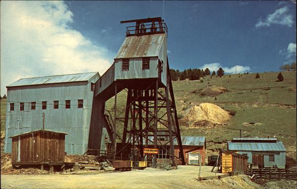 El Paso Gold Mine Victor CO