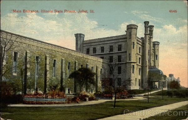 Main Entrance Illinois State Prison Joliet IL