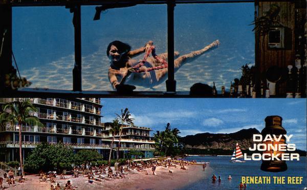 Davy Jones LockerBeneath the Reef Waikiki HI