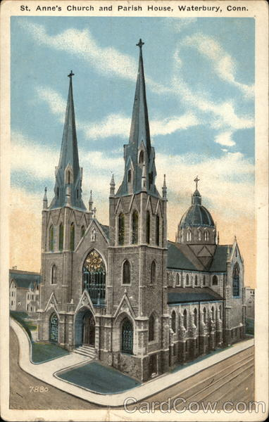 St Annes Church and Parish House Waterbury CT