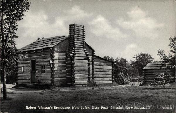 Robert Johnsons Residence New Salem State Park Lincolns
