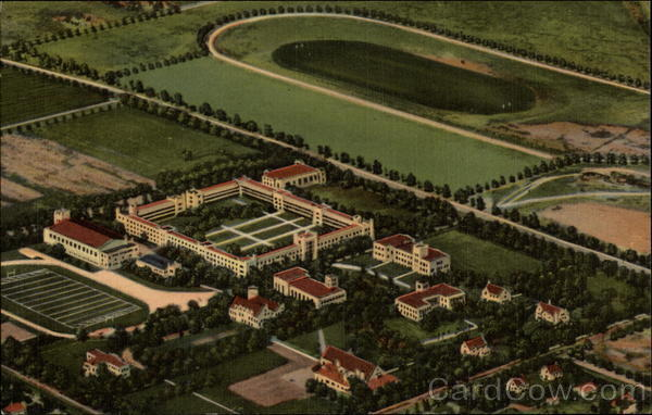 Air View New Mexico Military Institute Roswell NM