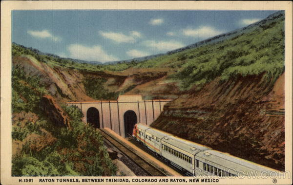Raton Tunnels Between Trinidad Colorado And Raton New