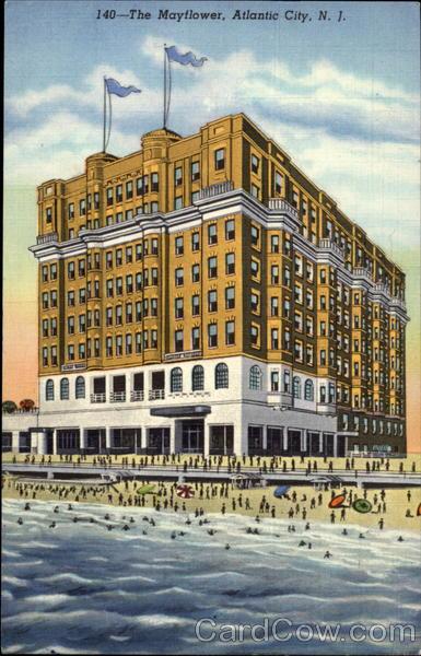 The Mayflower Hotel Atlantic City NJ