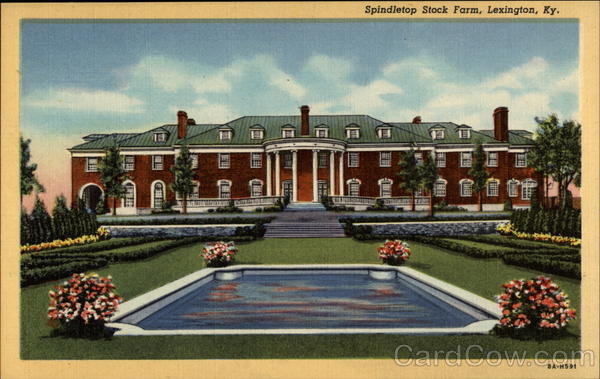 Spindletop Stock Farm Lexington Kentucky