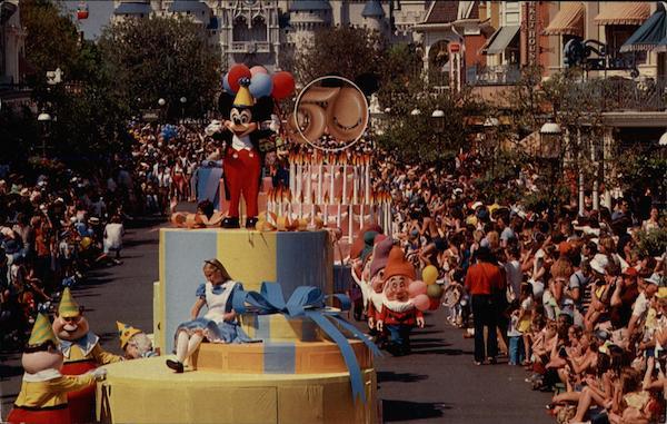 Mickey's 50th Birthday Celebration Walt Disney World FL