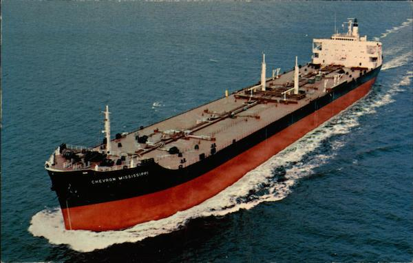 SS Chevron Mississippi Boats Ships