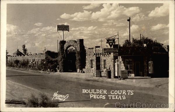 Boulder Courts Pecos TX