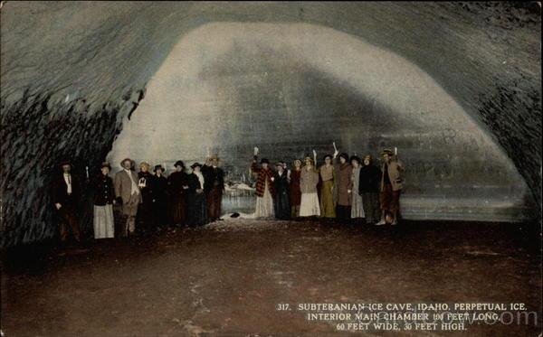 Shoshone Indian Ice Caves Idaho