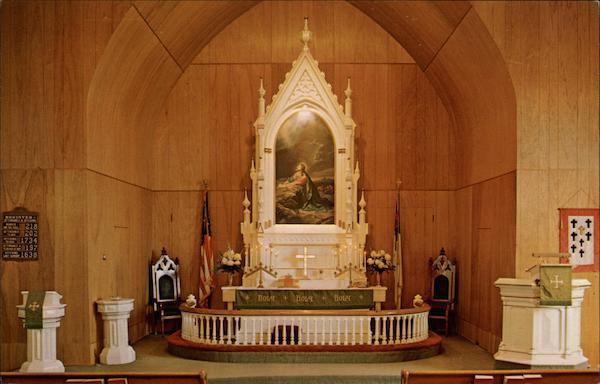 The Chancel of St John Evangelical Lutheran Church Hatton ND