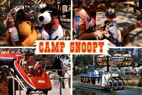 Camp Snoopy Knotts Berry Farm Buena Park CA