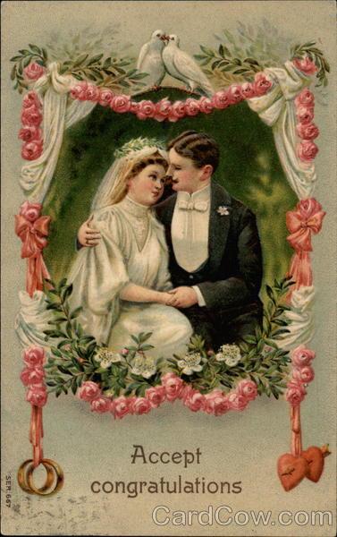Accept Congratulations Marriage & Wedding