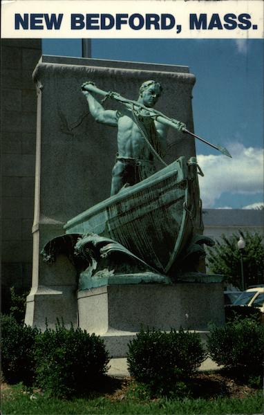 The Whaling Statue New Bedford Ma
