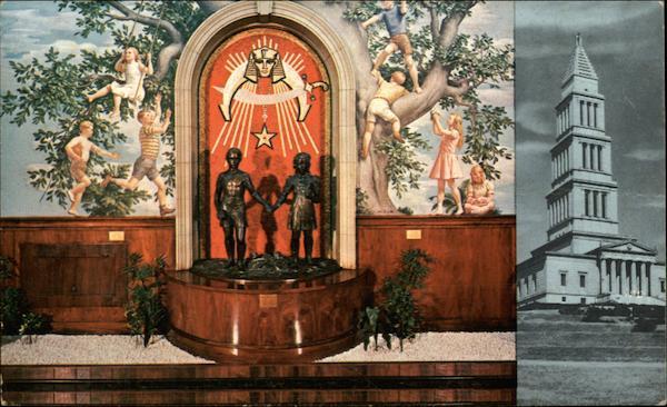 George Washington Masonic Memorial Bldg and Shriners