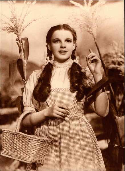 Judy Garland as Dorothy Celebrities