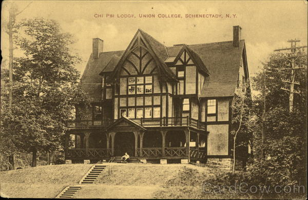 Chi Psi Lodge Union College Schenectady NY