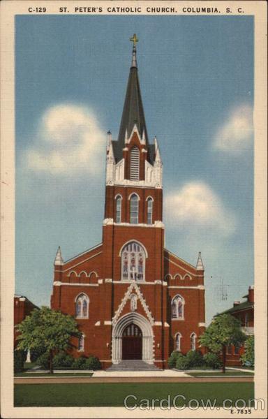 St Peter S Catholic Church Columbia Sc