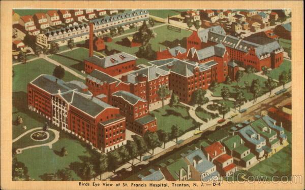 Birds Eye View Of St Francis Hospital Trenton NJ