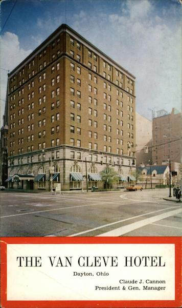 The Van Cleve Hotel Dayton OH