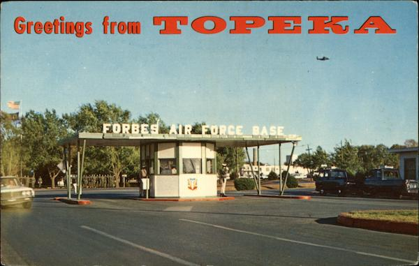 Forbes Air Force Base Topeka KS