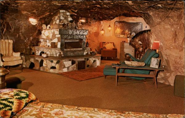 Fireplace World Famous Hole N The Rock Home Moab UT