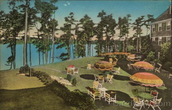 Oyster Harbors Club Garden Terrace Overlooking Cotuit Bay