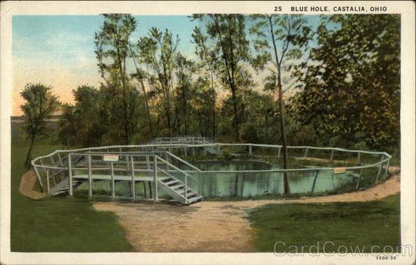 Castalia Blue Hole Ohio