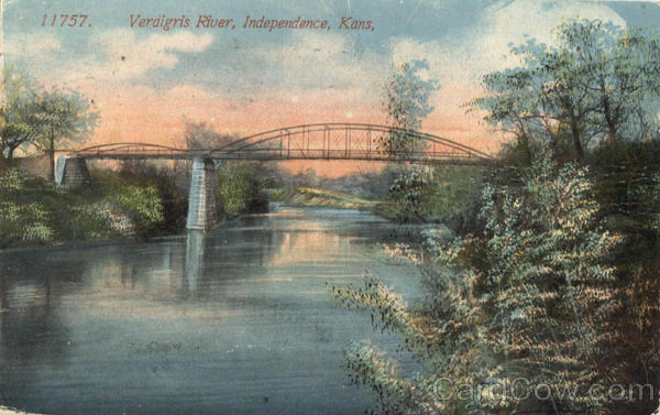 Verdigris River Independence KS