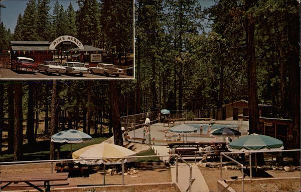 Pine Acres Resort Pine Grove CA
