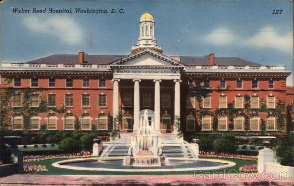 Walter Reed Hospital Washington DC DC