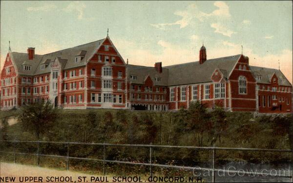 New Upper School St Paul School Concord NH