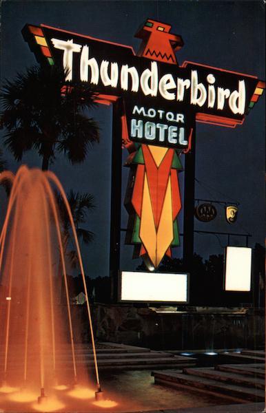 Thunderbird Motor Hotel Jacksonville FL