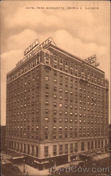 Hotel Pere Marquette Peoria IL