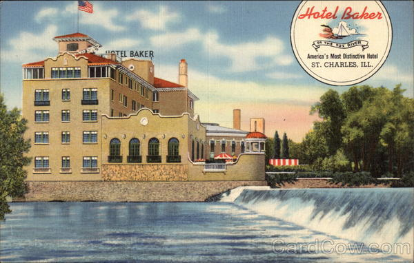 Hotel Baker St Charles IL