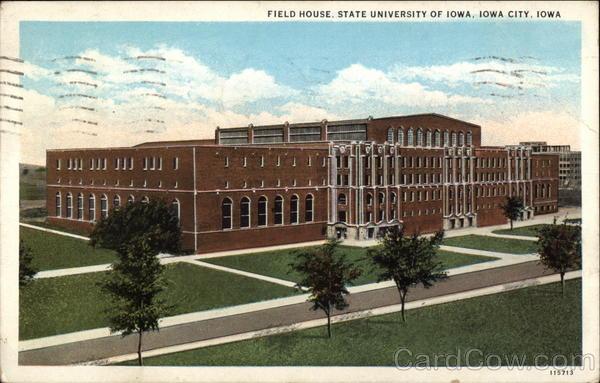 Field House State University Of Iowa Iowa City IA