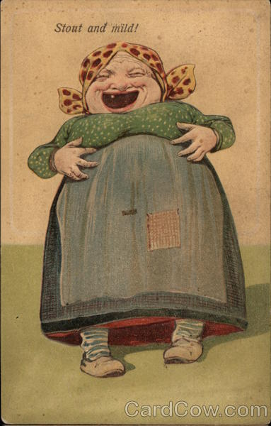 Toothless Old Woman Laughing Caricatures
