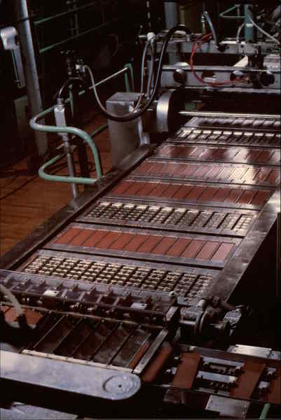 Hershey Chocolate Company Making Chocolate Bars Oakdale CA