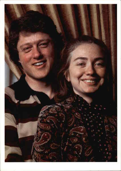 Bill And Hillary Clinton 1979 Presidents