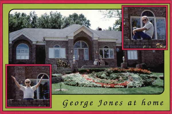 George Jones At Home Nashville TN