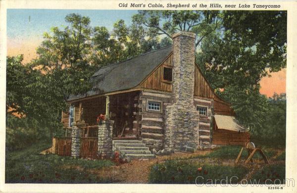 Old Matts Cabin Lake Taneycomo MO