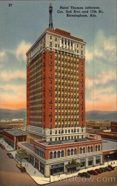 Hotel Thomas Jefferson Birmingham AL
