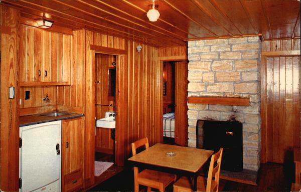 Lake Hope State Park Interior Of Sleeping Cabin Zaleski OH