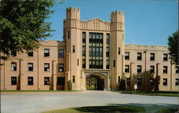 Sally Port New Mexico Military Institute Roswell NM