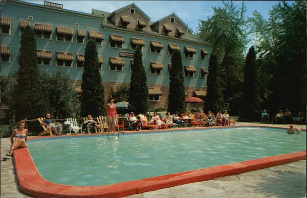 Hotel Columbia in Sharon Springs New York