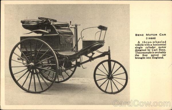 Benz Motor Car 1888 Cars