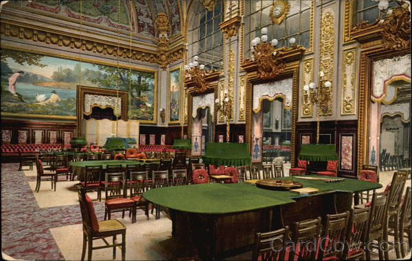 Interior Of The Casino La Salle Touzet Trente Et