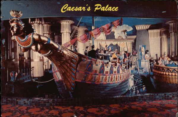Cleopatras Barge At Caesars Palace Las Vegas NV